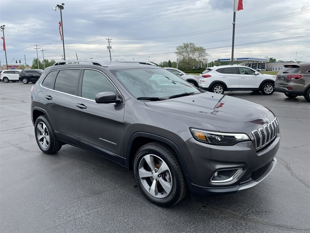 used 2019 Jeep Cherokee car, priced at $30,720