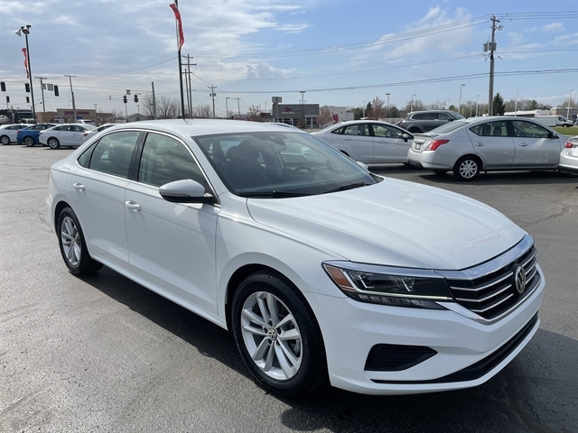 used 2020 Volkswagen Passat car, priced at $23,500